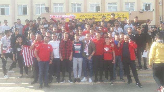 Antalyaspor OSB Meslek ve Teknik Anadolu Lisesi'ne Konuk Oldu
