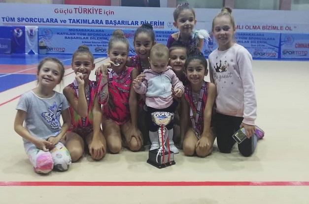 Ritmik Cimnastik Takımı Birinci Lige Yükseldi