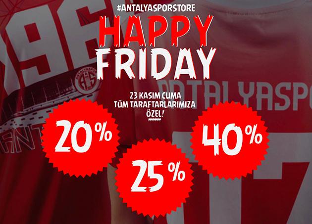 Antalyaspor Storelarda Cuma Gününe Özel İndirim