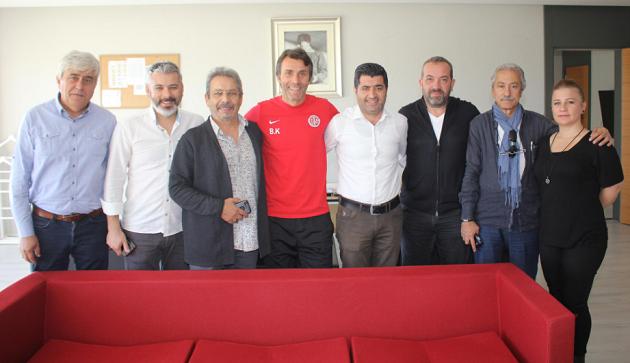 TSYD Antalya Şubesi'nden Antalyaspor'a Ziyaret