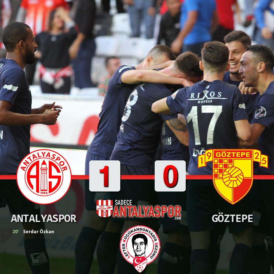 Antalyaspor 1 – 0 Göztepe