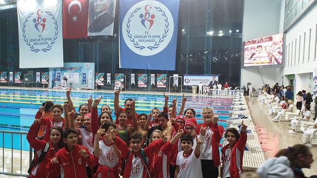 Antalyaspor Yüzme Takımı, Türkiye Finalleri'ne Damga Vurdu
