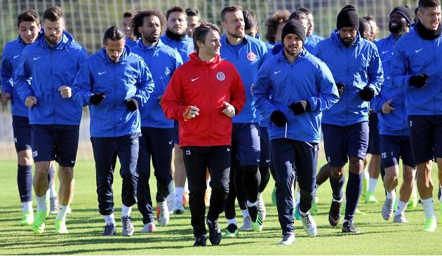 Antalyaspor'da Yeni Malatyaspor Hazırlıkları Sürüyor