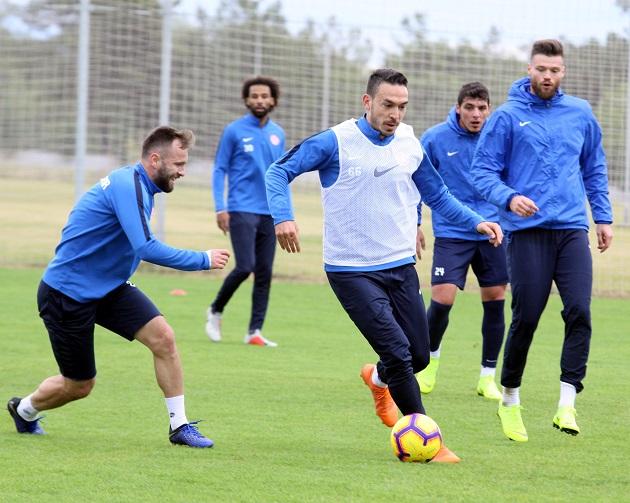 Bursaspor Maçının Taktik Çalışmaları Yapıldı