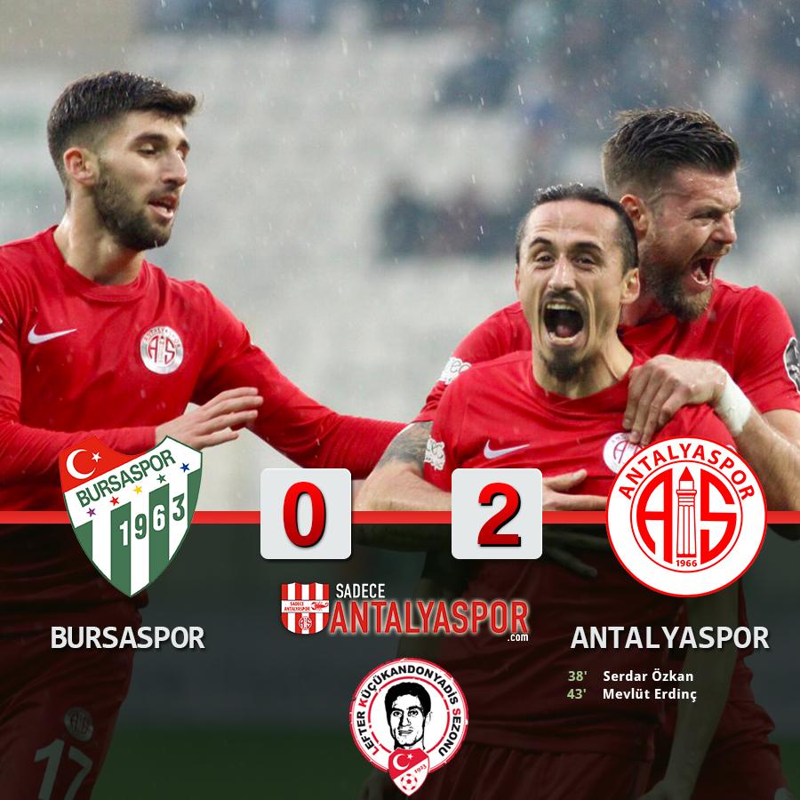 Bursaspor 0 – 2 Antalyaspor