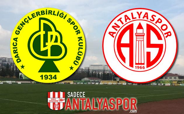 Darıca Gençlerbirliği – Antalyaspor (MAÇ KADROSU)