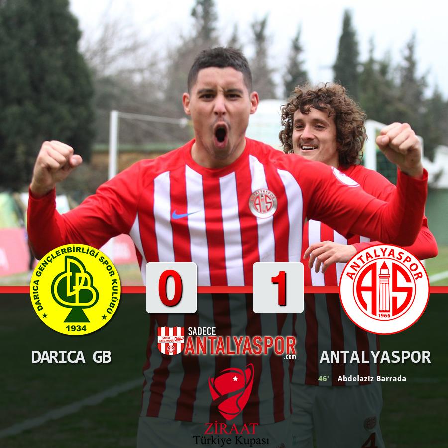 Darıca Gençlerbirliği 0 – 1 Antalyaspor