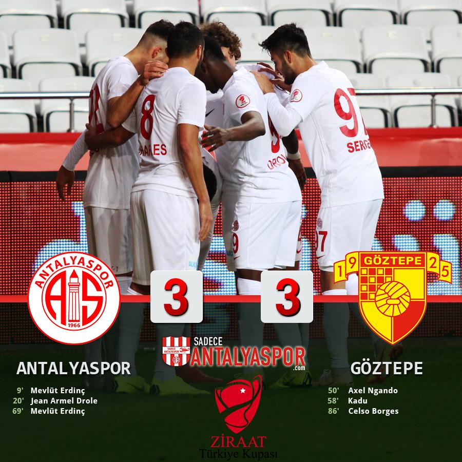Antalyaspor 3 – 3 Göztepe