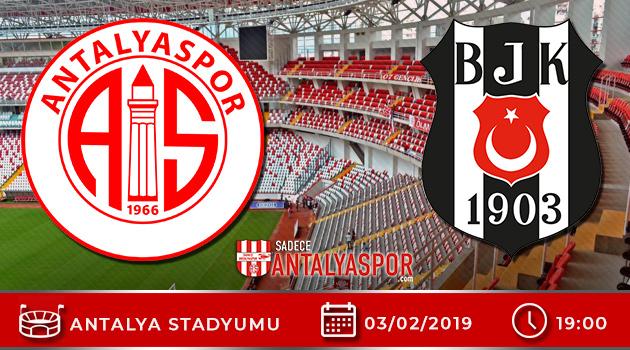 Antalyaspor – Beşiktaş Mücadelesinin Hakemi Belli Oldu