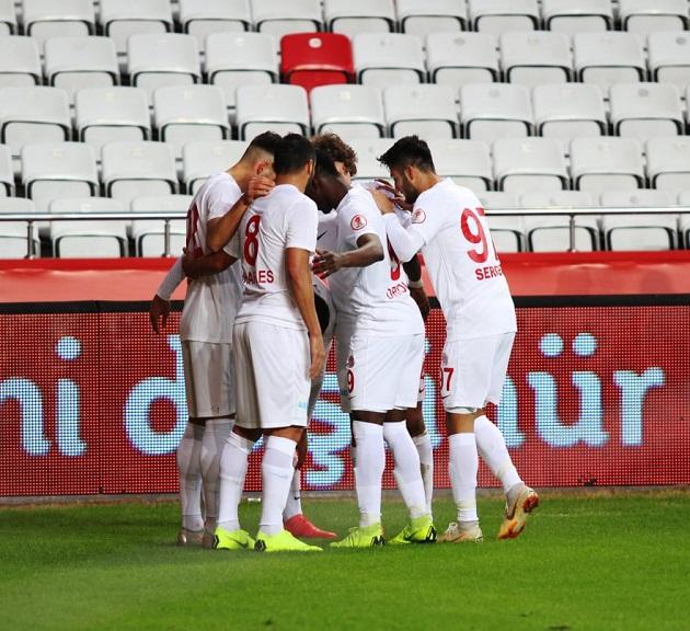Antalyaspor Süper Ligde 4 Maçtır Gol Atamıyor