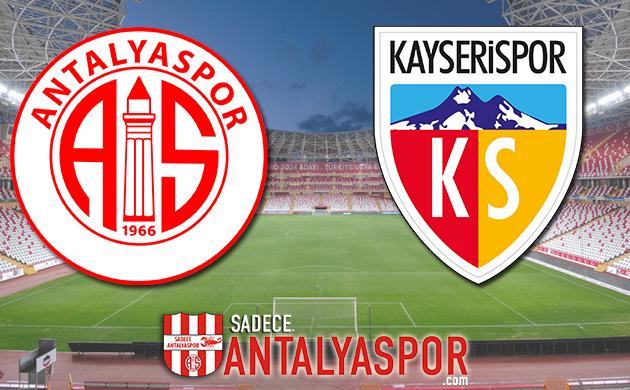 Antalyaspor – İM Kayserispor (KADROLAR)