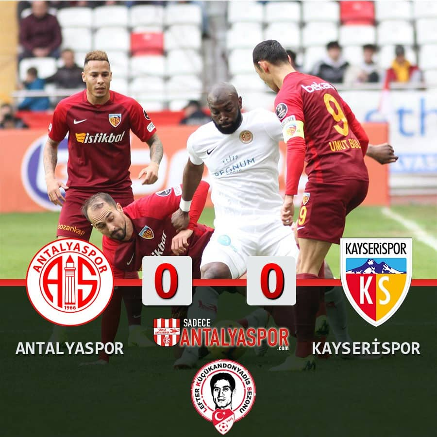Antalyaspor 0- 0 İM Kayserispor