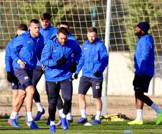 Antalyaspor'da Kayserispor Hazırlıkları Tamamlandı
