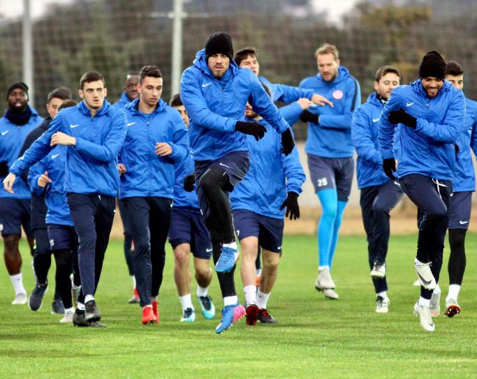 Antalyaspor'da Göztepe Maçının Hazırlıkları Başladı
