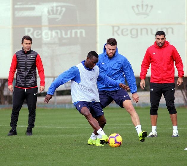 Antalyaspor Belek'te Hazırlıklarını Sürdürüyor