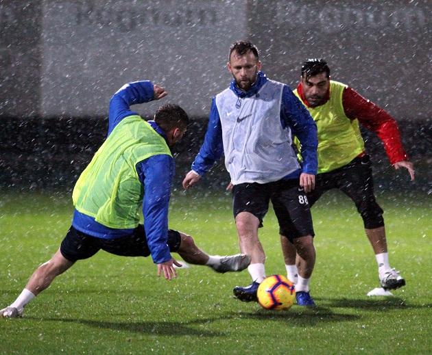 Antalyaspor Belek'te Günün İkinci Çalışmasını Yaptı