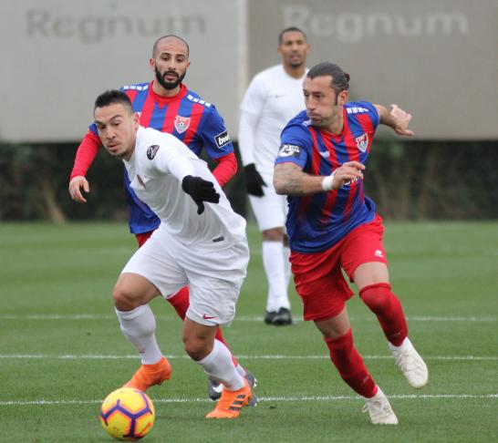 Antalyaspor Hazırlık Maçında Uerdingen'e Kaybetti