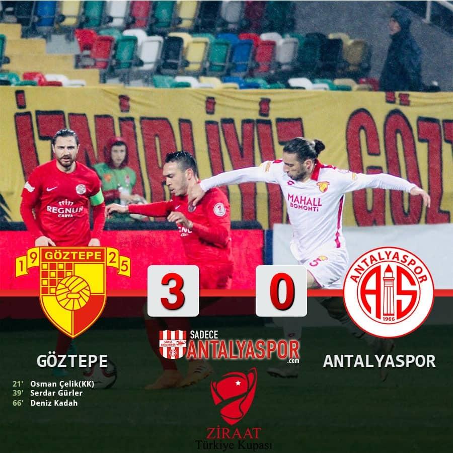 Göztepe 3 – 0 Antalyaspor
