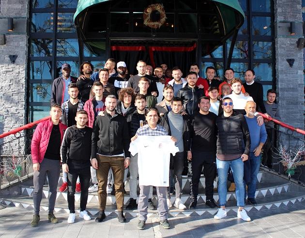 Grill House'un Konuğu Antalyaspor Oldu