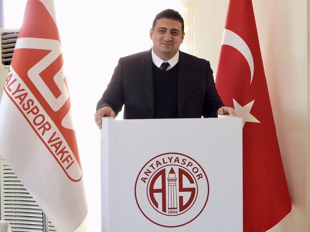 Antalyaspor Vakfı'nın Yeni Başkanı Ali Şafak Öztürk Oldu