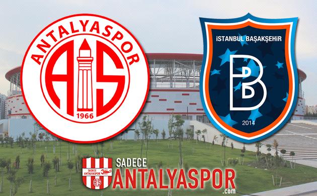 Antalyaspor – M. Başakşehir (KADROLAR)