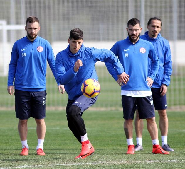 Antalyaspor'da M.Başakşehir Maçının Son Provaları Gerçekleşti