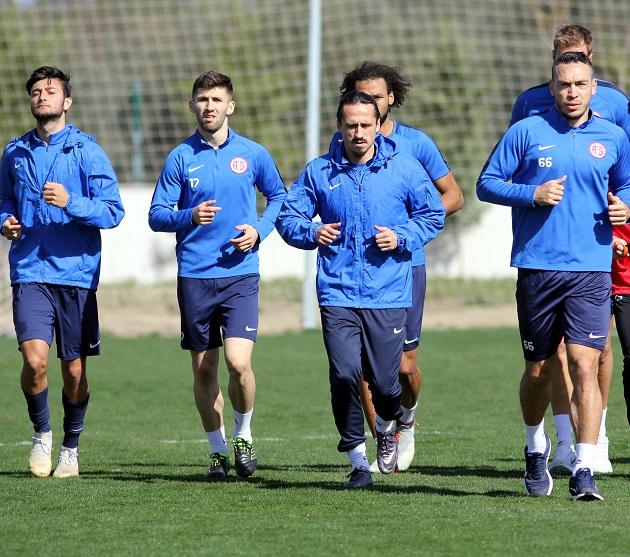 Antalyaspor'da DG Sivasspor Hazırlıkları Ara Vermeden Başladı