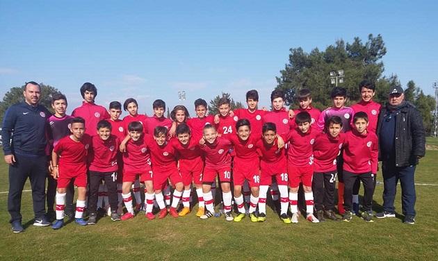 Antalyaspor U13 Takımından Müthiş Başarı