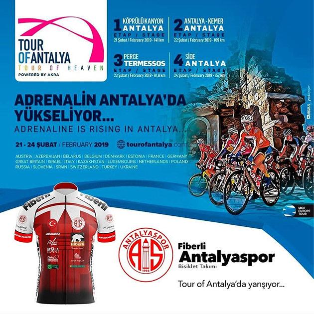 Bisiklet Takımı Tour of Antalya'ya Katılacak