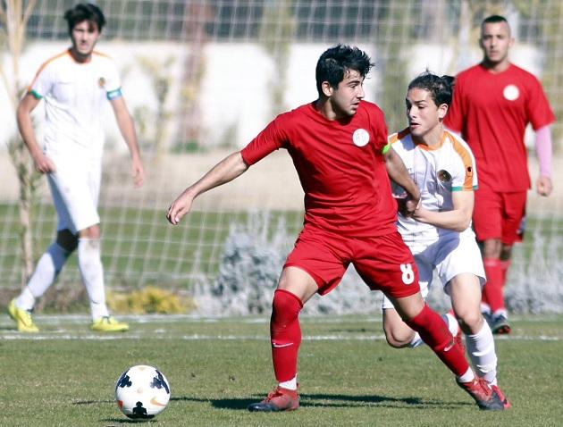 Antalyaspor'un Genç Oyuncusu Halil İbrahim Sevinç'e Milli Davet