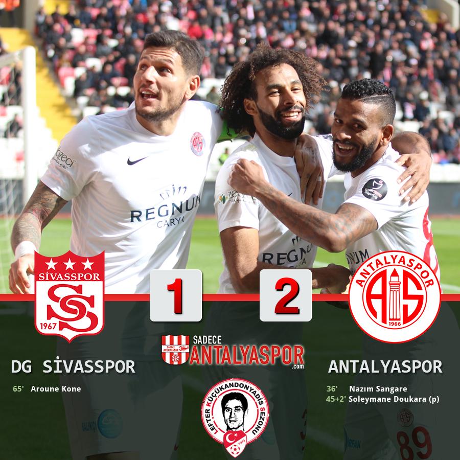 Demir Grup Sivasspor 1 -2 Antalyaspor