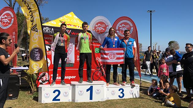 Triatlon Takımımızdan Antalya Aquatlonu'nda Derece