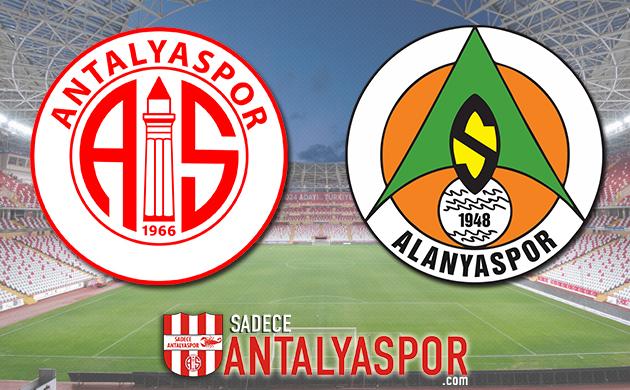 Antalyaspor – Aytemiz Alanyaspor (KADROLAR)