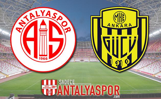 Antalyaspor – MKE Ankaragücü (KADROLAR)