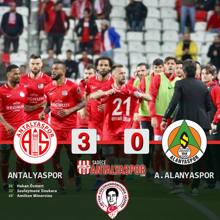 Antalyaspor 3 – 0 Aytemiz Alanyaspor