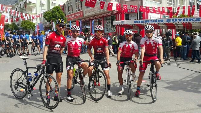 Fiberli Antalyaspor Tour Of Mersin'de Yarışıyor