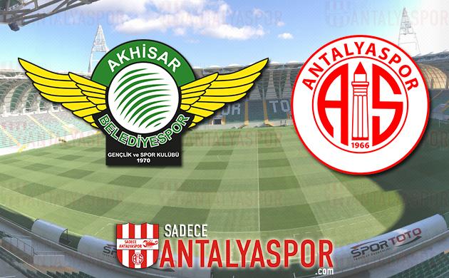 Akhisarspor – Antalyaspor (KADROLAR)