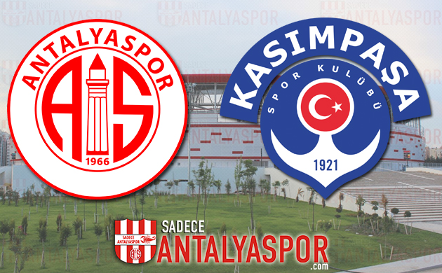 Antalyaspor – Kasımpaşa (KADROLAR)