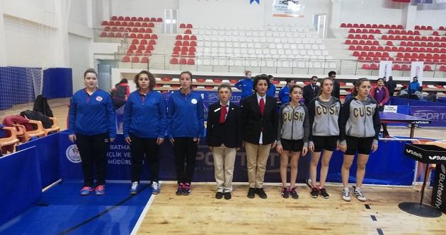 Antalyaspor Kadın Masa Tenisi Takımı 1.Lig'e Düştü