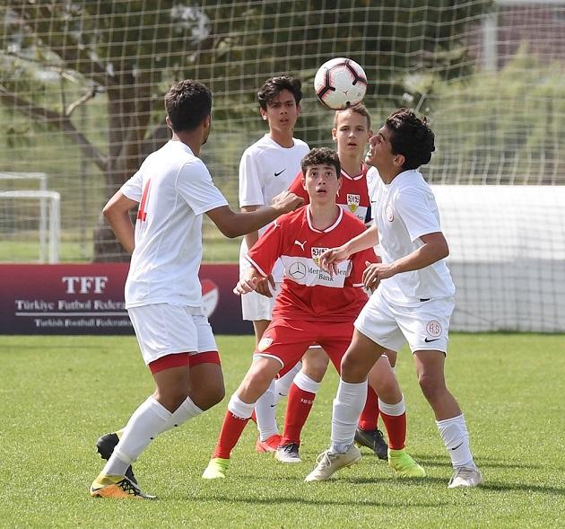 Antalyaspor U15 Takımı Dördüncü Oldu