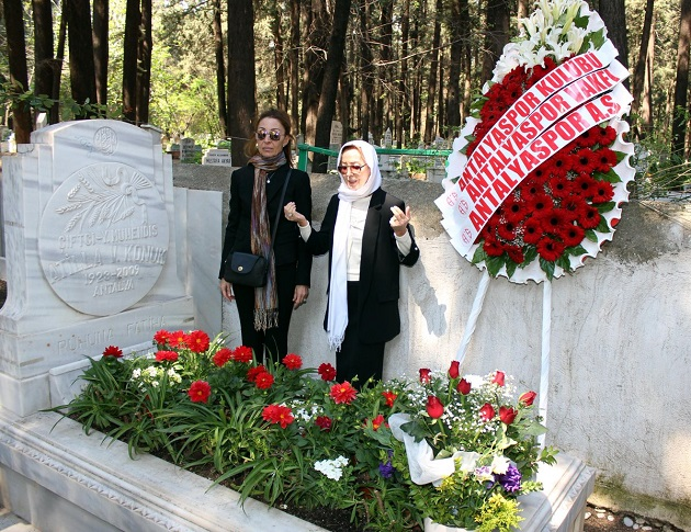 Atilla Vehbi Konuk Mezarı Başında Anıldı