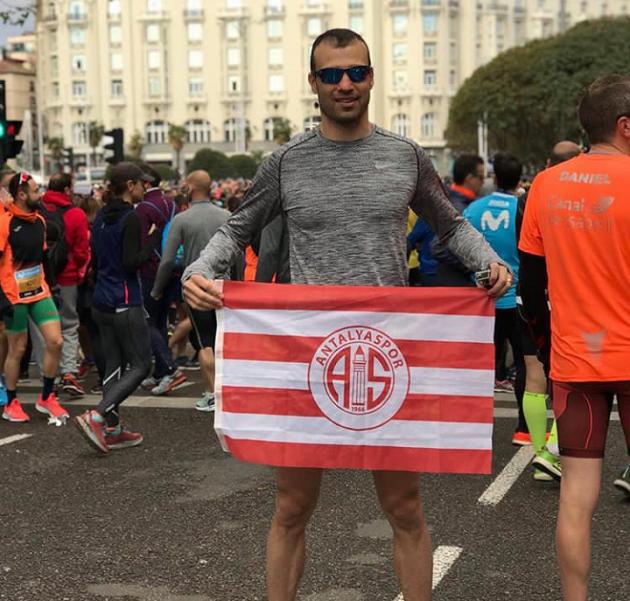 Antalyaspor Madrid Yarı Maratonu'nda Yarıştı