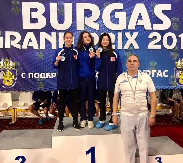 Ecenur Ceylan'dan Bulgaristan'da Altın Madalya