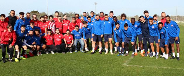 Antalyaspor E-Spor Takımından Futbol Takımına Ziyaret