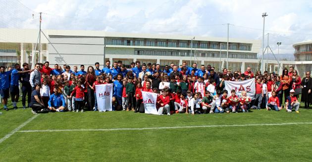 Has Koleji'nden Antalyaspor'a Ziyaret