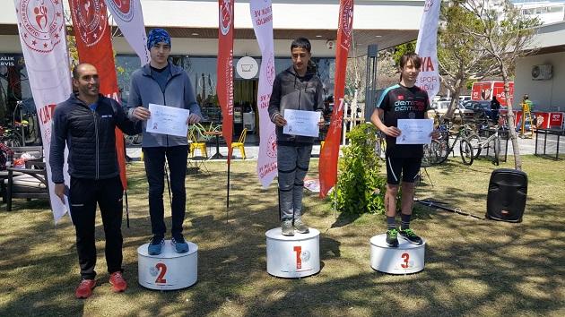 Triatlon Takımı Üçte Üç Yaptı