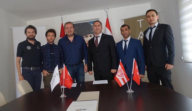 Triatlon Takımı Sponsorluk Anlaşması İmzaladı