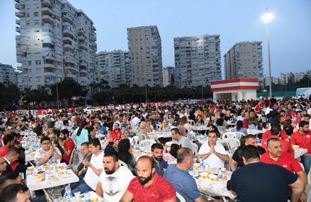 Antalyaspor Camiası 07 Gençlik'in Düzenlediği İftarda Buluştu