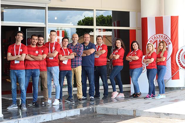 Antalyaspor Store Törenle Açıldı