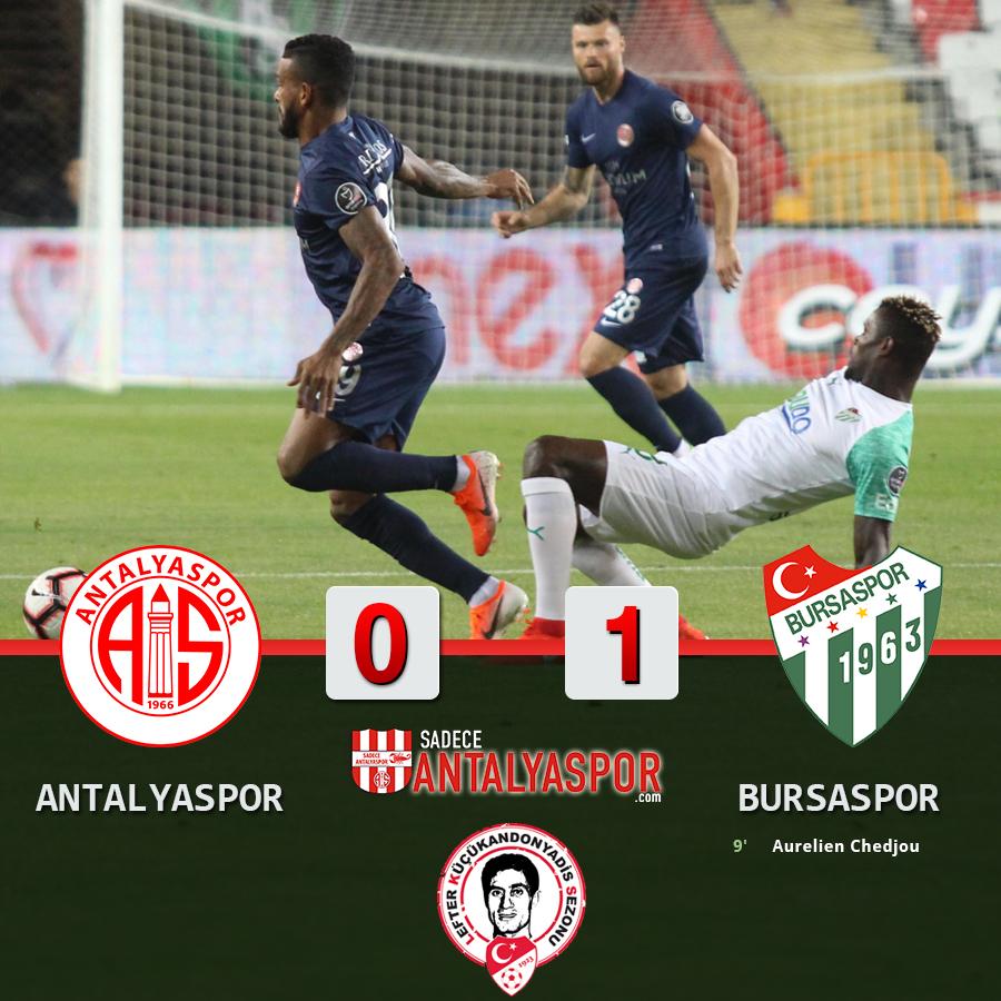 Antalyaspor 0 -1 Bursaspor